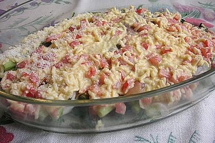 Spargel überbacken, mit Tomate und Spinat 30