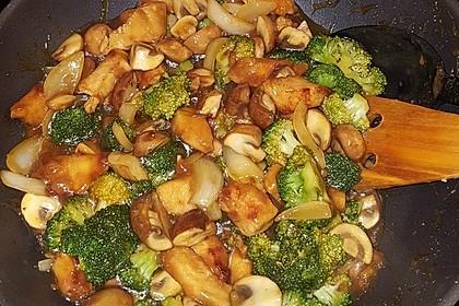 Chinesische Hähnchenbrust mit Brokkoli 3
