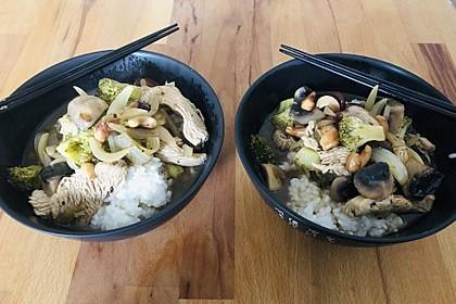 Chinesische Hähnchenbrust mit Brokkoli 12