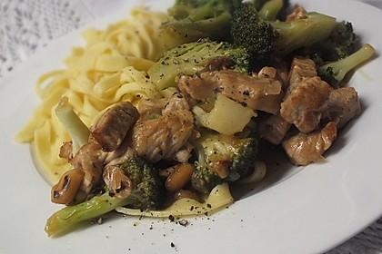 Chinesische Hähnchenbrust mit Brokkoli 2