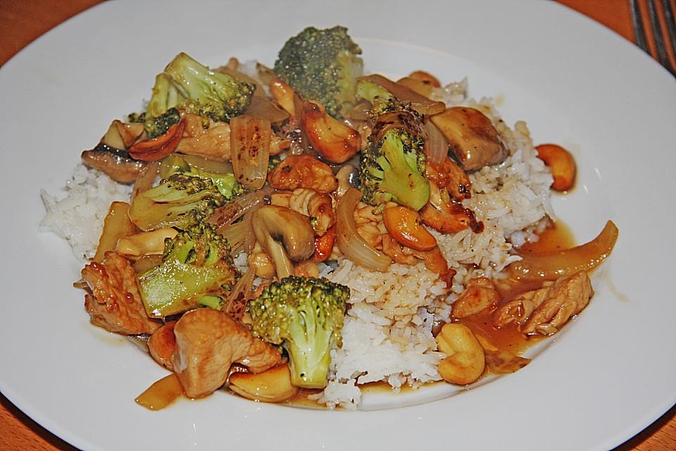 Chinesisch kochen h hnchen curry for Chinesisch kochen