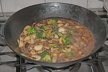 Chinesische Hähnchenbrust mit Brokkoli 11