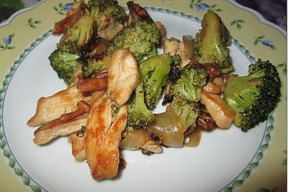 Chinesische Hähnchenbrust mit Brokkoli 9