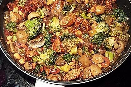 Chinesische Hähnchenbrust mit Brokkoli 4