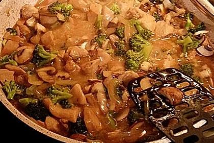 Chinesische Hähnchenbrust mit Brokkoli 6