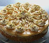 Pistazien - Pfirsichcreme - Torte (Bild)