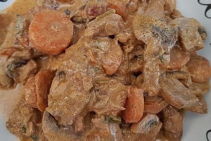 Hähnchen-Gemüse-Kokospfanne 23