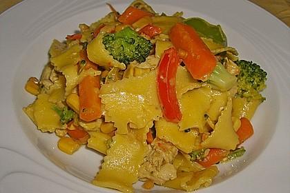 Hähnchen-Gemüse-Kokospfanne 6
