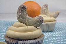 Vanillekipferl - Cupcakes
