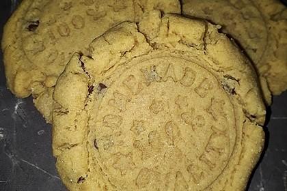 Saftige Erdnussbutter - Cookies 12