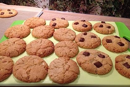 Saftige Erdnussbutter - Cookies 29
