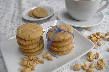 Saftige Erdnussbutter - Cookies 1