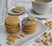 Saftige Erdnussbutter - Cookies
