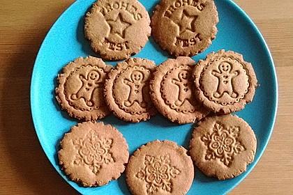 Saftige Erdnussbutter - Cookies 9