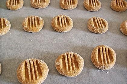 Saftige Erdnussbutter - Cookies 20