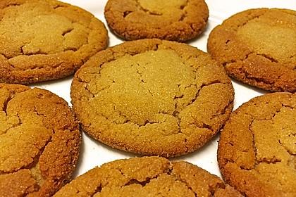 Saftige Erdnussbutter - Cookies 17
