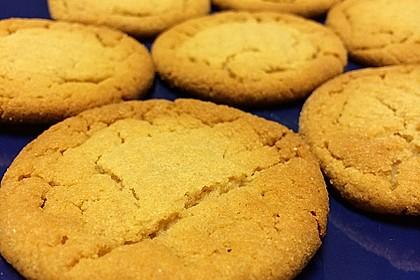 Saftige Erdnussbutter - Cookies 36