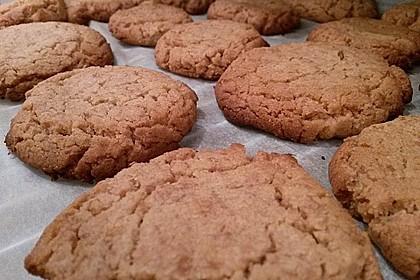 Saftige Erdnussbutter - Cookies 23