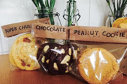 Saftige Erdnussbutter - Cookies 2