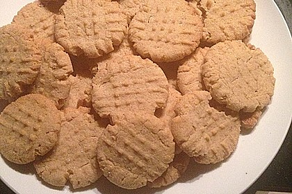 Saftige Erdnussbutter - Cookies 42