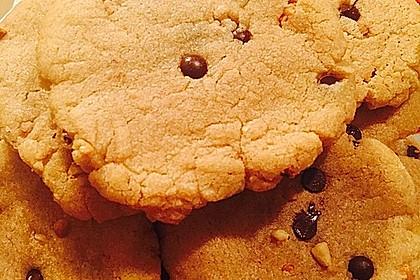 Saftige Erdnussbutter - Cookies 25