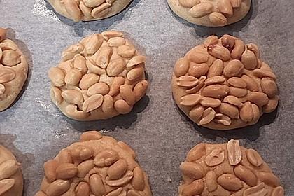 Saftige Erdnussbutter - Cookies 6