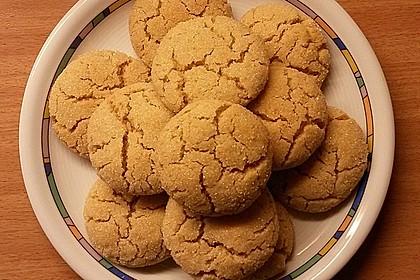 Saftige Erdnussbutter - Cookies 3