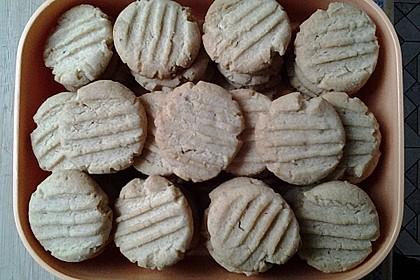Saftige Erdnussbutter - Cookies 43