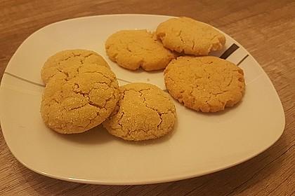 Saftige Erdnussbutter - Cookies 33
