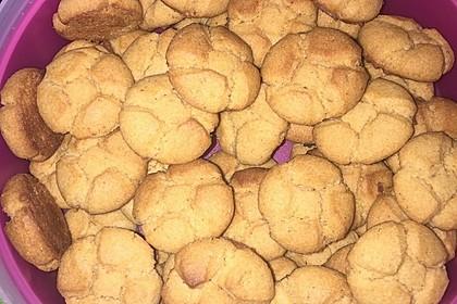 Saftige Erdnussbutter - Cookies 30