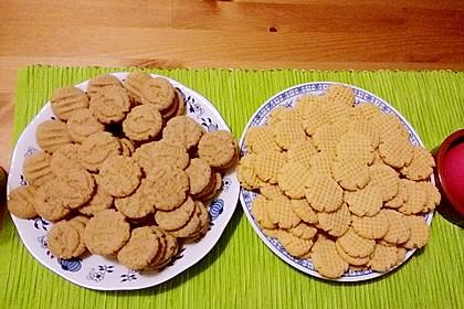 Saftige Erdnussbutter - Cookies 11