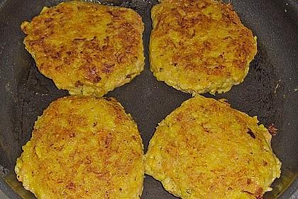 Reis - Möhren - Käse Bratlinge