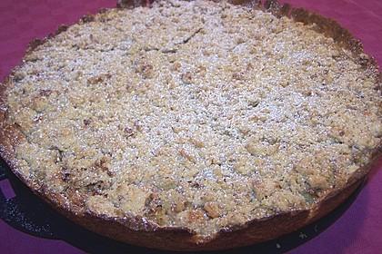 Rhabarberkuchen mit Vanillestreusel 7