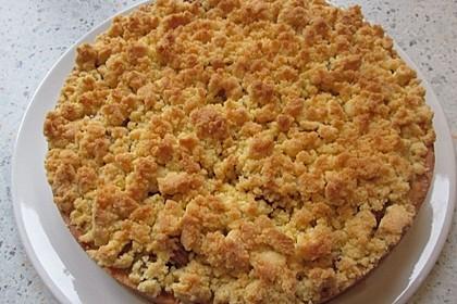 Rhabarberkuchen mit Vanillestreusel 1
