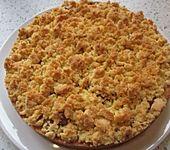 Rhabarberkuchen mit Vanillestreusel