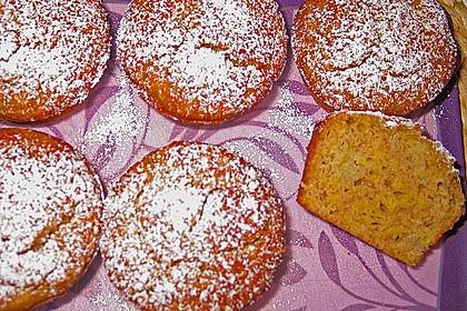 Bananen - Muffins