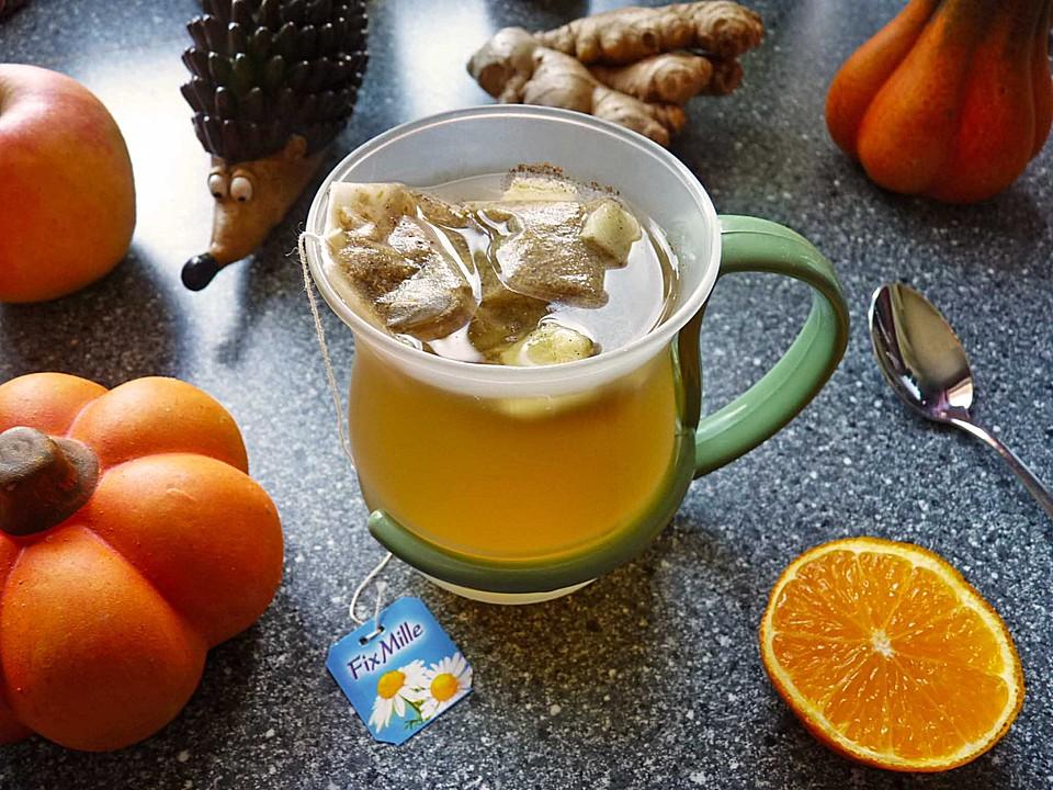 orangen ingwer kamillentee rezept mit bild von kr uterjule. Black Bedroom Furniture Sets. Home Design Ideas