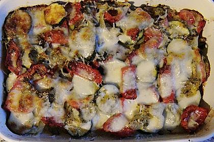 Kartoffel - Gemüse - Käse Gratin 0
