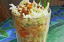 Chinakohl Schichtsalat