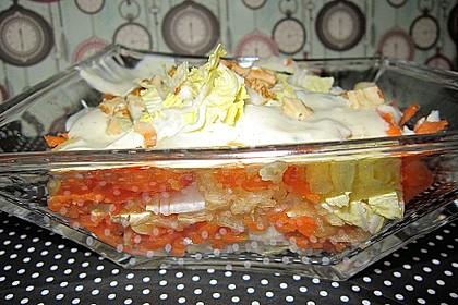 Chinakohl Schichtsalat 2