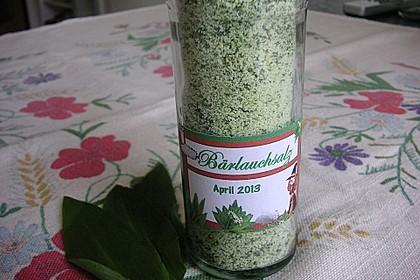 Bärlauch - Salz 5
