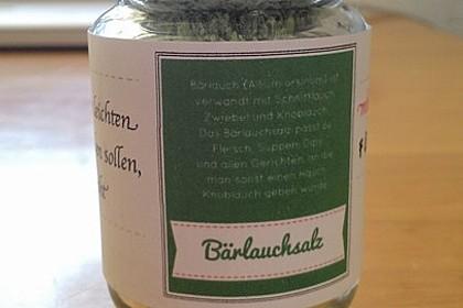 Bärlauch - Salz 17