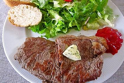 Rindersteaks -sanft garen mit Niedrigtemperatur 9
