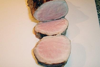 Schweinefilet mit Blattspinat und Champignons 4