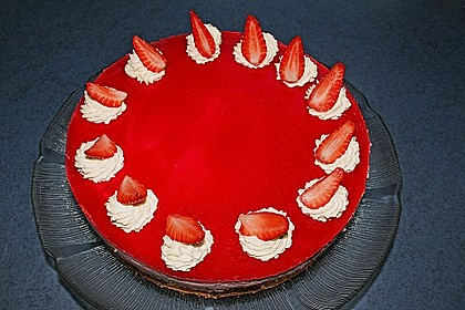 Erdbeercreme -Torte 8