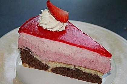 Erdbeercreme -Torte 1