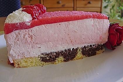 Erdbeercreme -Torte 5