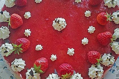 Erdbeercreme -Torte 19