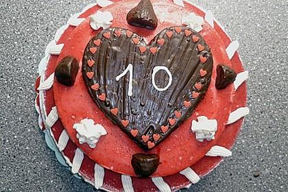Erdbeercreme -Torte 29
