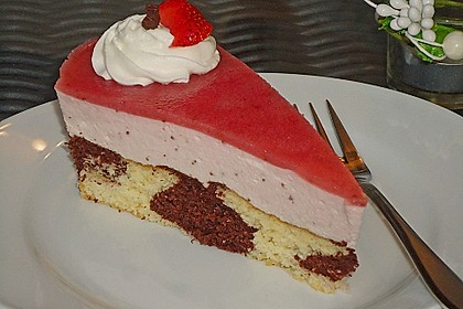 Erdbeercreme -Torte 13